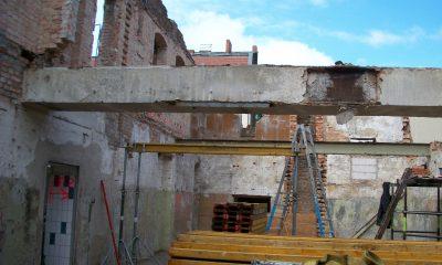 Abbruch bestehendes Dachtragwerk