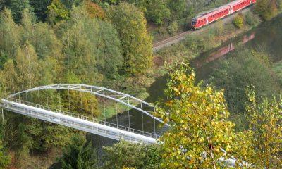 Rohrbrücke im Elstertal