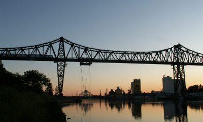 Kanalbauwerk - 42 m lichte Durchfahrtshöhe