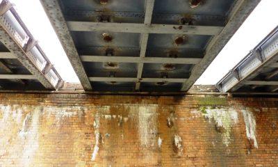 Untersicht der bestehenden Trogüberbauten