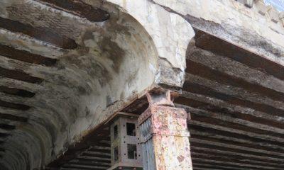 Detail - Stützenkopf mit Schäden