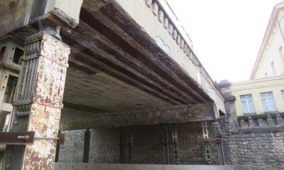 Untersicht der Bestandsüberbauten