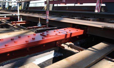 Querträgerverstärkung am Kanalbauwerk