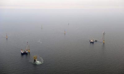Offshore Windpark alpha ventus (Foto: DOTI/Matthias Ibeler)