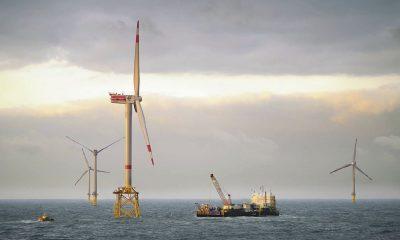 Offshore Windpark alpha ventus (Foto: alpha ventus / DOTI 2009)