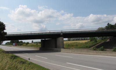 Ansicht Straßenbrücke