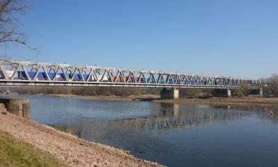 Ansicht der Herrenkrugbrücke