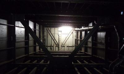 Blick in das Innere eines Hohlkastens