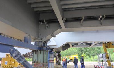 Installation von Messtechnik auf dem Lagerplatz im Wilhelmshaven