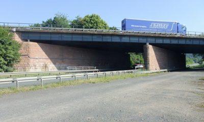 Bauwerk 1-3 über B62 und Bahn