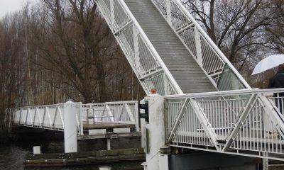 Brücke über die Maselakebucht in Berlin Spandau