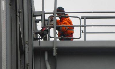 Installation Kamera auf VZB