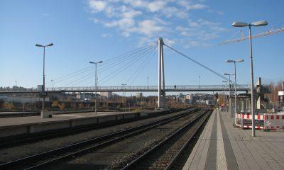 Ansicht vom Bahnsteig