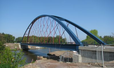 Netzwerkbogenbrücke EÜ Flora