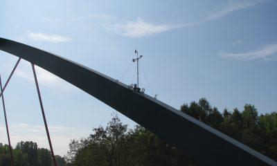 Windmesser auf dem Bogen