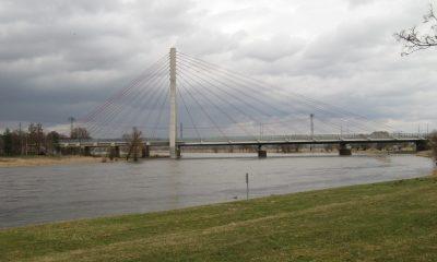 Die Elbebrücke Niederwartha nach der Fertigstellung