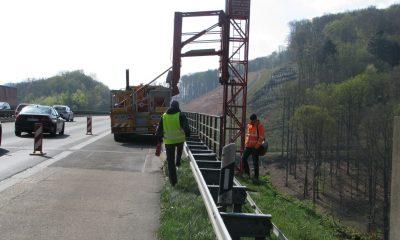 Einstieg in das Brückenuntersichtgerät