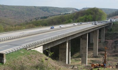 Ansicht der Talbrücke Rohrbuch