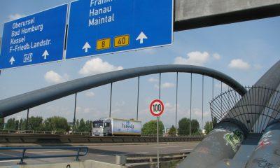 Ansicht Kaiserleibrücke zwischen Frankfurt und Offenbach