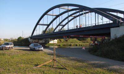 Ansicht Stabbogenbrücke