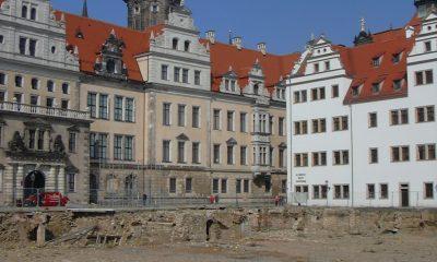 Schlosshotel vor Baubeginn
