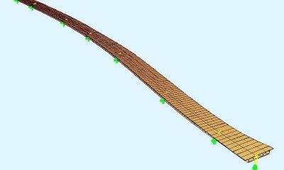 Statisches Modell zur Schnittgrößenermittlung