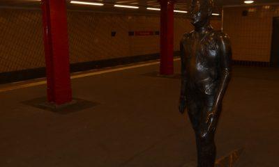 """Skulptur """"Der Schreitende"""""""