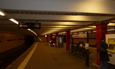 U-Bahnhof Vinetastrasse -Linie U2