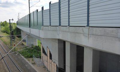 Widerlager und Überwerfungsbauwerk von außen