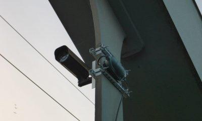 Webcam zur bildlichen Erfassung der Fahrzeuge