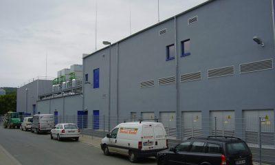 Technikgebäude