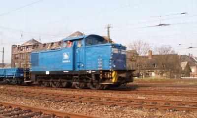 Belastungsfahrzeug Lok BR 346 - 2 Wagen