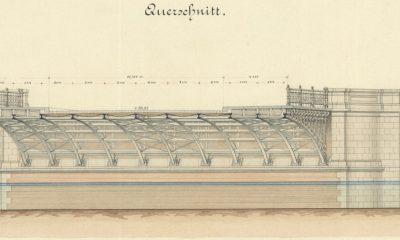 Querschnitt aus Bestandsplan 1882