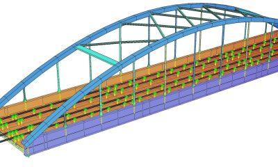 Rendering Berechnungsmodell EÜ Vinnhorst