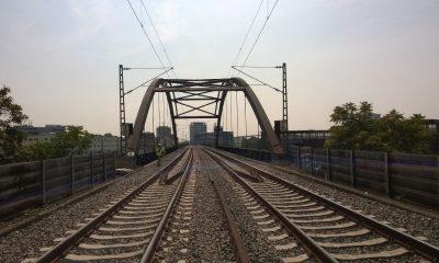 EÜ Verbindungskanal - Ansicht in Streckenachse