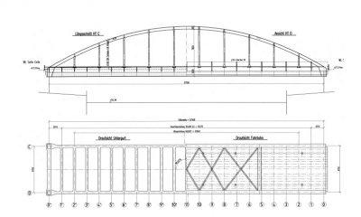 Stabbogenbrücke EÜ Vinnhorst